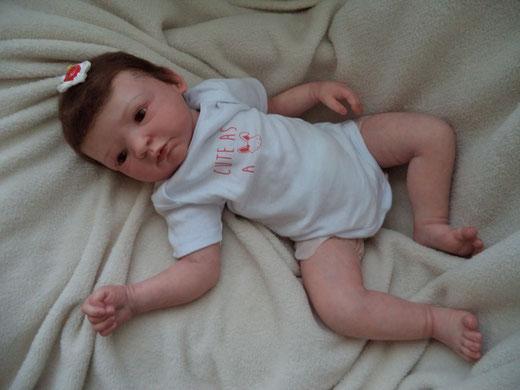 NINA Gudrun Legler reborn baby