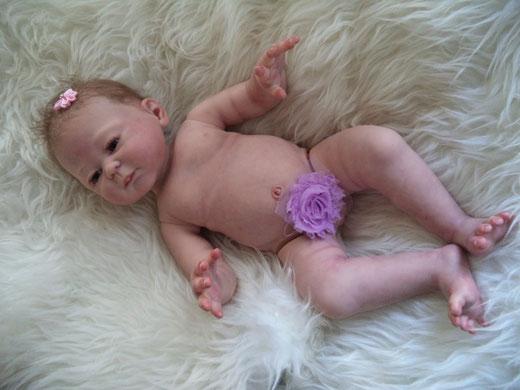 reborn baby CARMELA by Sheila Michael