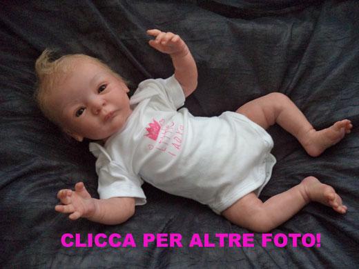 baby reborn LINDEA Gudrun Legler