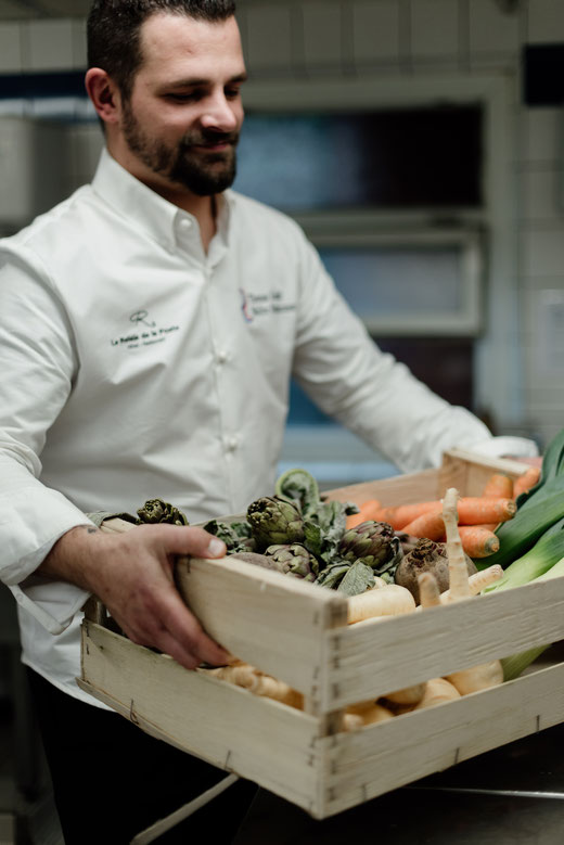 Thomas Koebel, Restaurantchef im Gourmetrestaurant Le Relais de la Poste in La Wantzenau im Elsass