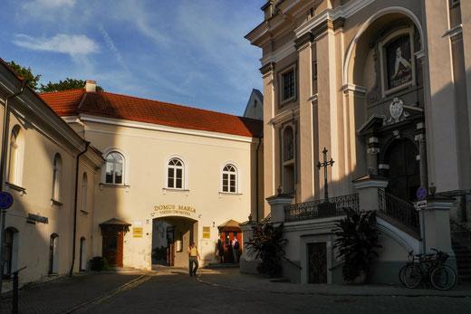 """Unterkunft """"Domus Maria"""" - selbstverständlich neben einer der vielen Kirchen"""