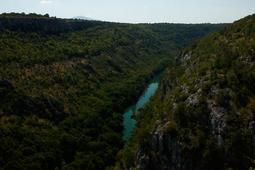 The Canyon of Krka National Park