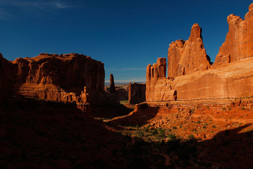 Park Avenue Trail, Arches National Park, wandern in Arches, USA