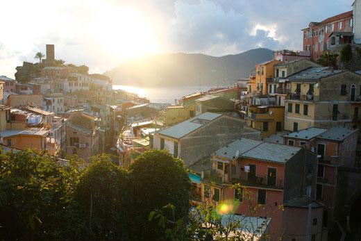 Vernazza, Cinque Terre, Abendlicht