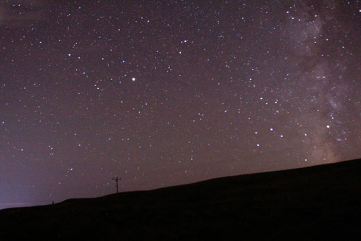 Milky Way, Wyoming, starry night, Love with age gap, age gap relationship