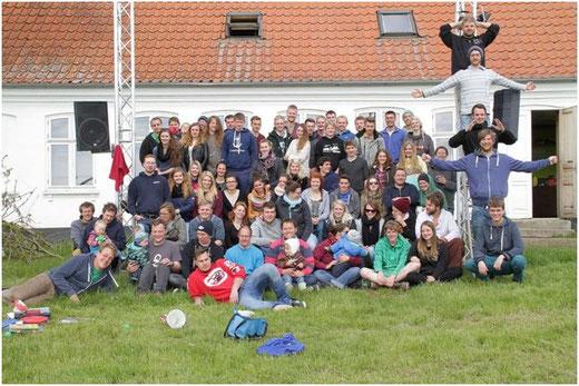 Über 80 Jugendleiterinnen und Jugendleiter bilden sich fort in Lille Bodskov, DK