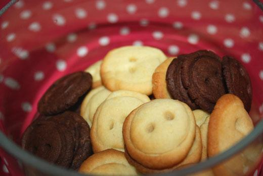 marlen preßler, unikate mit liebe, menze 2010, knopfkeks, backen, kekse backen, rezept