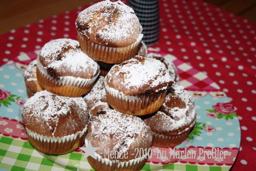 Muffin, Schokokuchen, Marlen Preßler, Menze 2010, Rezept, Kuchenrezept