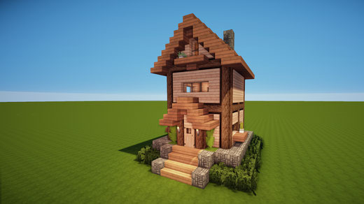 Neueste Häuser Minecraft Häuser Bauen Webseite - Minecraft hauser aus holz und stein