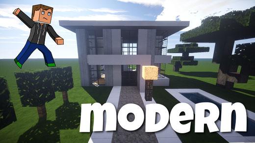 Meine Schönen Minecraft Häuser Minecraft Häuser Bauen Webseite - Minecraft modernes haus bauen anleitung