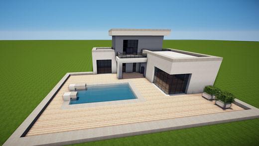 Minecraft Spielen Deutsch Minecraft Haus Bauen Mit Keller Bild - Minecraft haus zum bauen