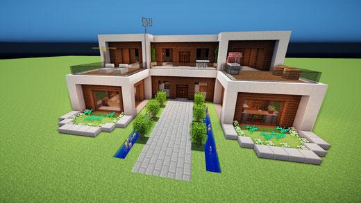 Neueste Hauser Minecraft Hauser Bauen Webseite