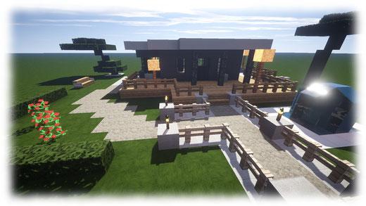 Meine Schönen Minecraft Häuser Minecraft Häuser Bauen Webseite - Minecraft altmodische hauser bauen