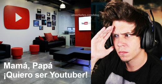 Mi hijo quiere ser Youtuber, que debo hacer y tener en cuenta