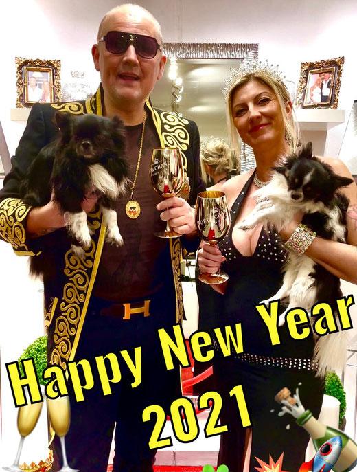 Prinz Alexander von Anhalt und Familie sendet herzlichste royale Neujahrsgrüße 2021 / Happy New Yrea 2021