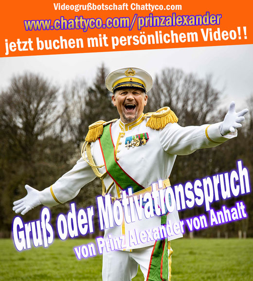 #motivation #motivationsspruch #motivationsvideo #motivationsgruß #grussbotschaft #grußbotschaften #prinzalexander #prinzalexandervonanhalt #realitystar #singer #zsazsagabor #prinzfredericvonanhalt #video #royal #millionär