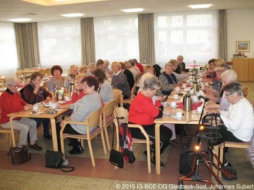 Adventskaffe und Bingo der IGBCE OG Gladbeck-Süd