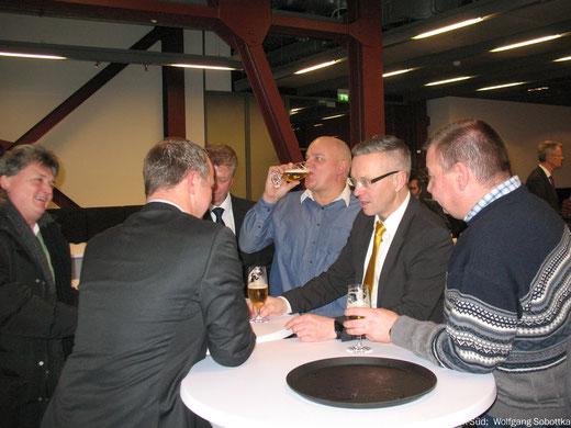 Foto: Neujahrsempfang IG BCE Bezirk Gelsenkirchen  2017, Stenberg und Gäste