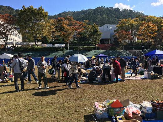 京都学園大学の学園祭にフリマ出店
