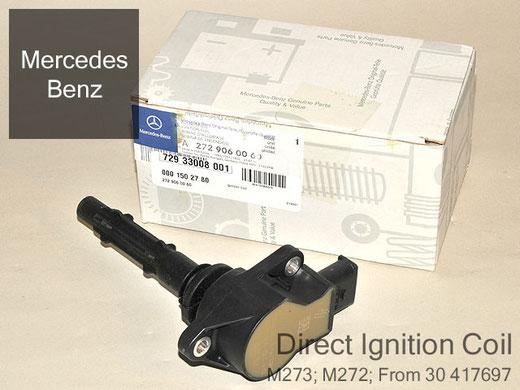 ベンツ Sクラス W221 V6 V8 イグニッションコイル M272 M273用