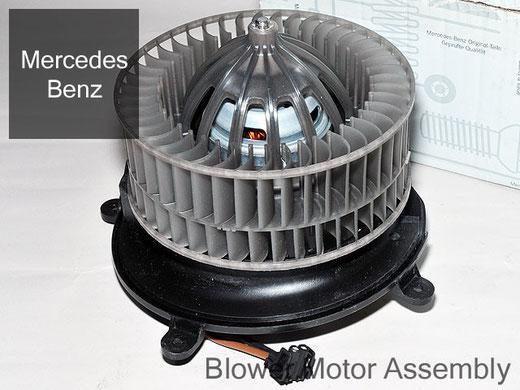 ベンツ CLSクラス W219 ブロアモーター 右ハンドル用