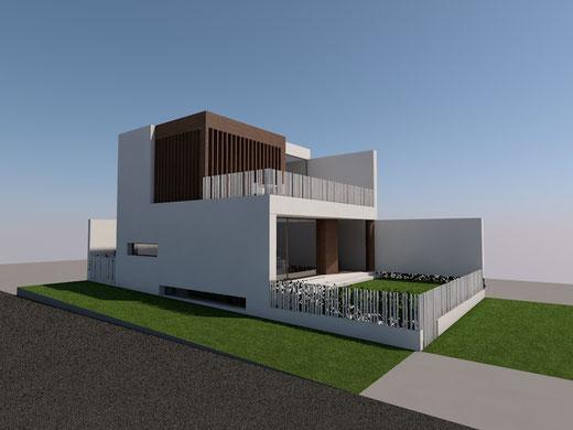 Passivhaus Huelva. Vivienda Passivhaus. Andalucía. Passive House. Diseño Moderno. Arquitectura. Edificio de Consumo Casi Nulo de Energía. NZEB. Eficiencia Energética. Sostenibilidad.