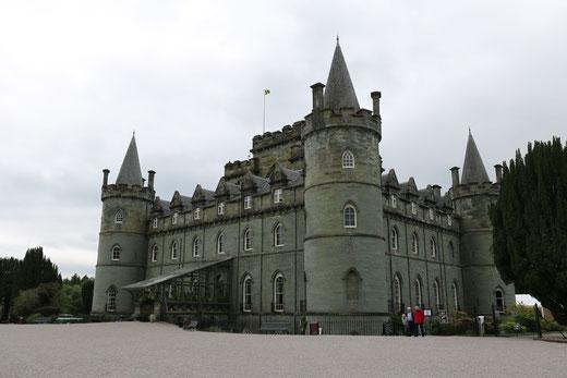 Ein schönes schottisches Schloss: Das Inveraray Castle