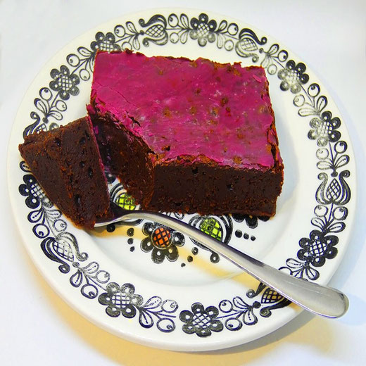 Cab Sav Brownie - Adventurous Cake Book
