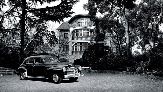 Zhou Enlai's Buick at his Shanghai residence