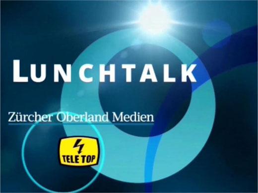 Lunchtalk - ein Angebot der Zürcher Oberland Medien AG und Tele Top. Bild: zueriost.ch