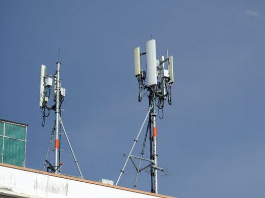Derzeit sind in Gossau und Grüningen drei 5G-Antennen aktiv. (Symbolbild)