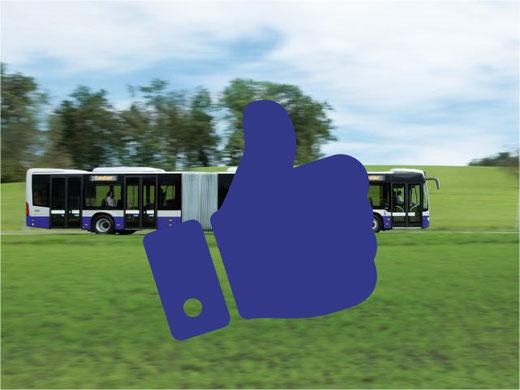 Wieder gute Noten erhalten: die Verkehrsbetriebe Zürcher Oberland VZO. Bild: VZO/bunts.ch