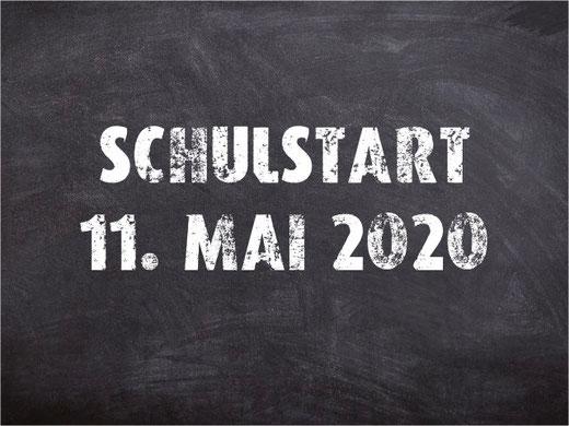 Auch für die Schüler geht's ab dem 11. Mai wieder los. Bild: bunts.ch