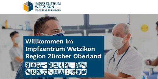 Ab April 2021 soll man sich in Wetzikon impfen können. Bild: www.impfenwetzikon.ch