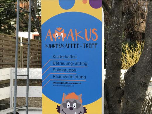 AMAKUS: Kaffee, Kurzzeit-Sitting und Spielgruppe unter einem Dach. Bild: bunts.ch