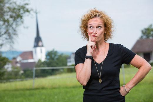 """""""Frau Bunts"""": Die Betreiberin von bunts.ch, Barbara Tudor"""