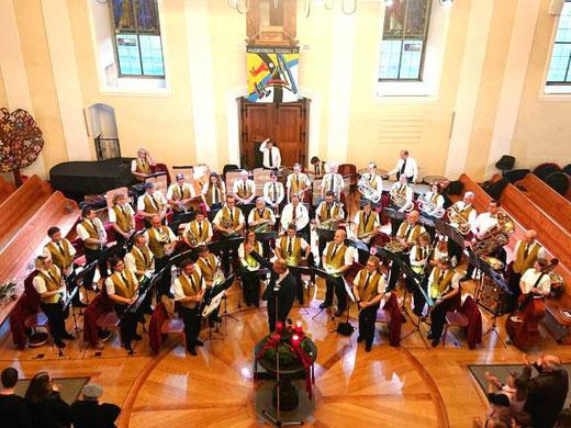 Wieder ein voller Erfolg: Kirchenkonzert vom 8. Dezember in der Ref. Kirche Gossau ZH. Bild: zvg