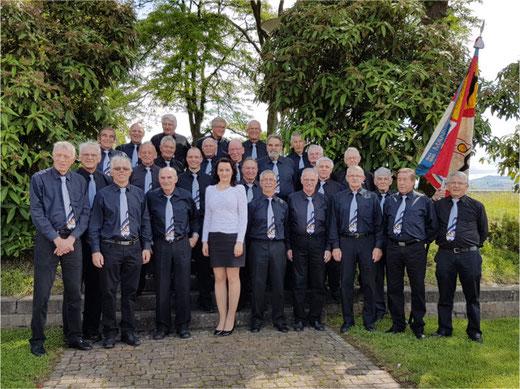 Der Männerchor Gossau-Ottikon feiert seinen 175. Geburtstag. Bild: zvg