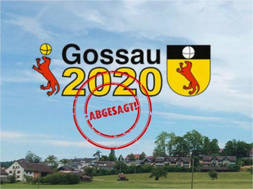 Auch Gossau2020 fällt dem Coronavirus zum Opfer.