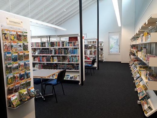 Wieder für Besucher geöffnet: Die Mediothek Grüningen. Bild: Mediothek Grüningen