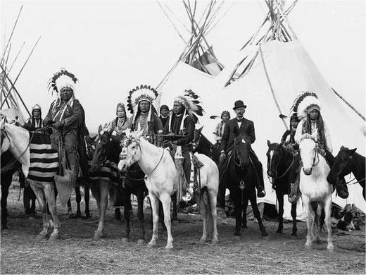 Das Leben der Indianer kann wieder bestaunt werden. Bild: zvg