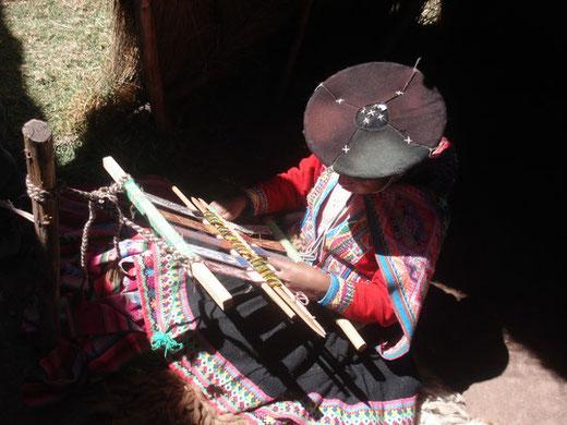 Besuch kleiner Andendörfer im Heiligen Tal