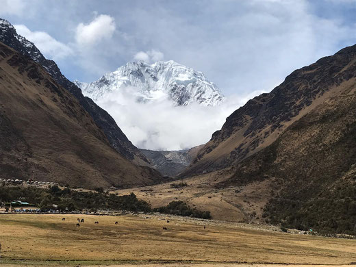 Wandern auf dem Salkantay Trek mit PERUline