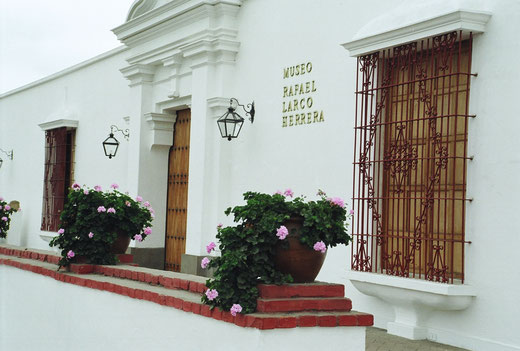 Sehenswürdigkeiten Limas: Larco Herrera Museum