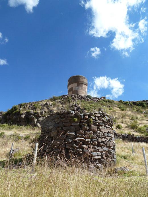 Ausflug zu den Grabstätten von Sillustani von Puno aus - buchen bei PERUline