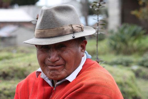 Gesichter der Anden in Ecuador