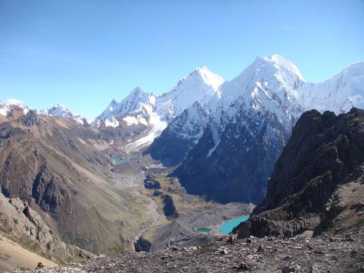 Durch die Cordillera Blanca mit PERUline