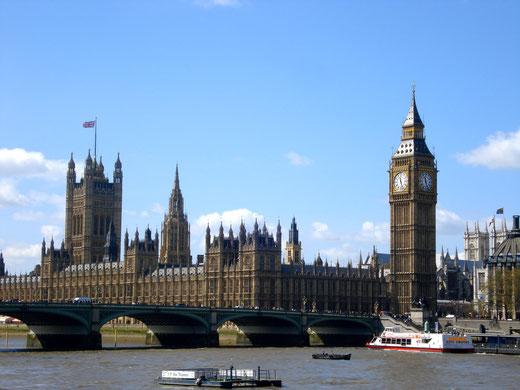 Foto: Big Ben und das Parlamentsgebäude © Margot S. Baumann