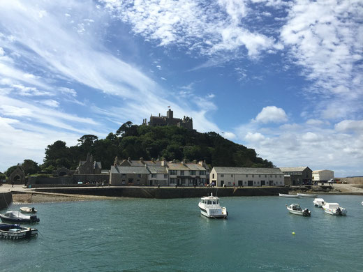 Foto © Margot S. Baumann: St. Michael's Mount