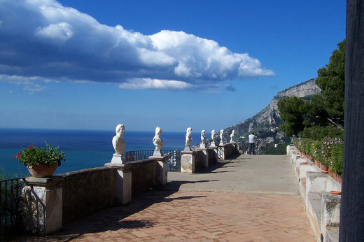 Villa Cimbrone in Ravello